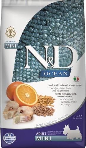 N&D Ocean Dog Codfish, Spelt, Oats and Orange Mini